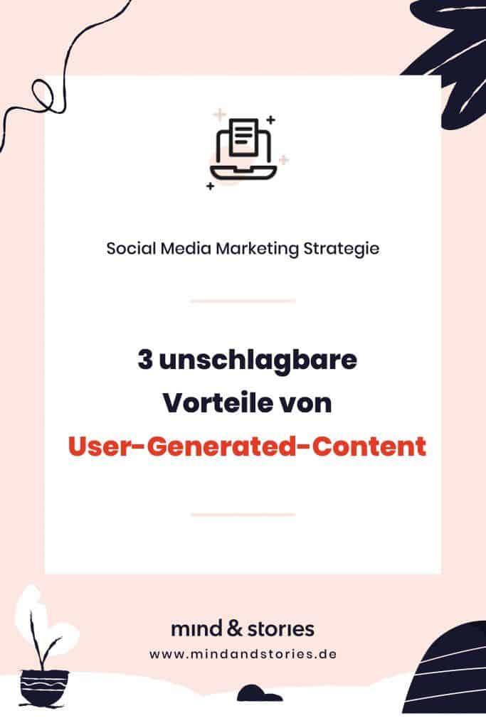 Pinterest Grafik: Flatlay-Style: 3 unschlagbare Vorteile von User-generated-Content