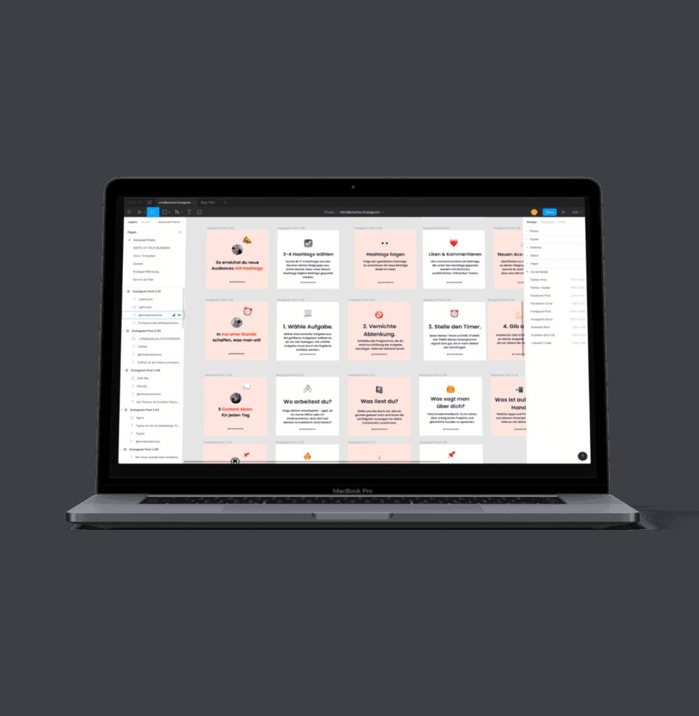 Tool für Screendesign: Figma