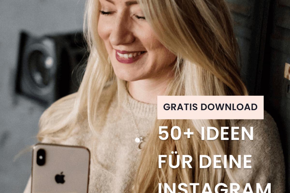 50 Ideen für deine Instagram Stories