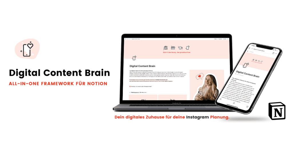Content Planung mit dem Digital Content Brain
